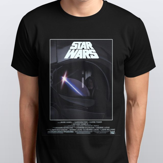 Star Wars a New Hope Poster T-Shirt