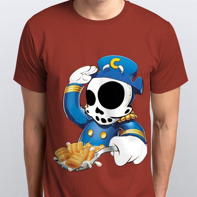 #skeleton #captaincrunch #cereal #zanoskull #bones www.roxzanoart.com