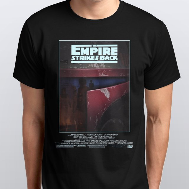 Star Wars The Empire Strikes Back Poster T-Shirt