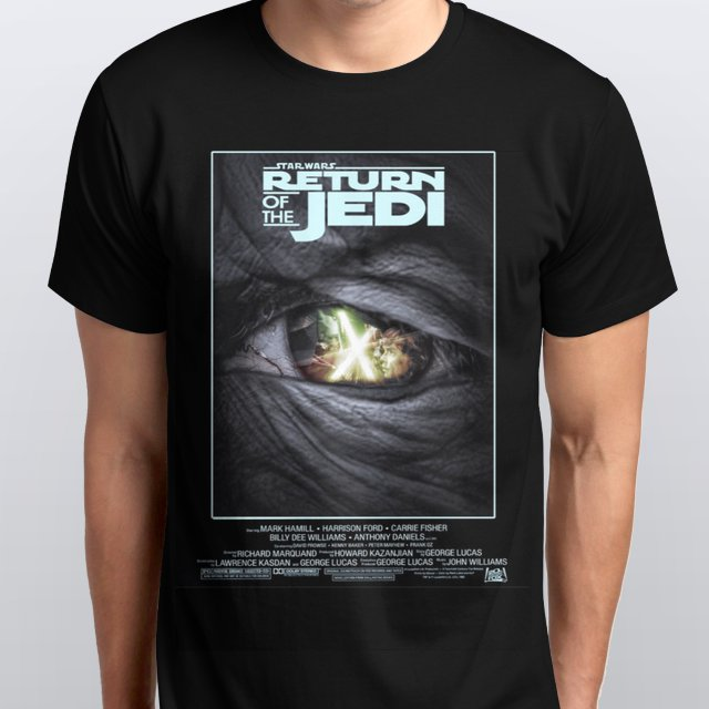 Star Wars Return of The Jedi Poster T-Shirt