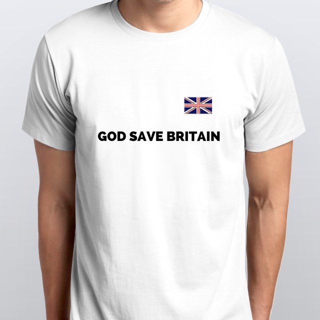 GOD SAVE BRITAIN