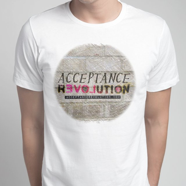 Acceptance Revolution Men's T -White