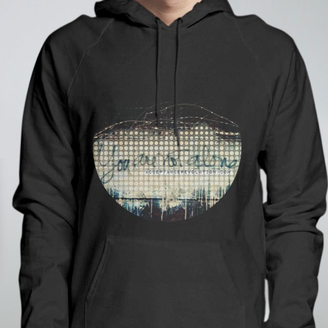 Not Alone Hoodie
