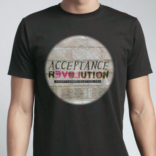Acceptance Revolution Men's T - Black
