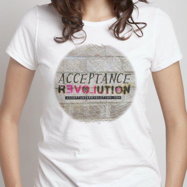 Acceptance Revolution Women's T - White