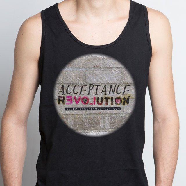 Acceptance Revolution Logo Tank