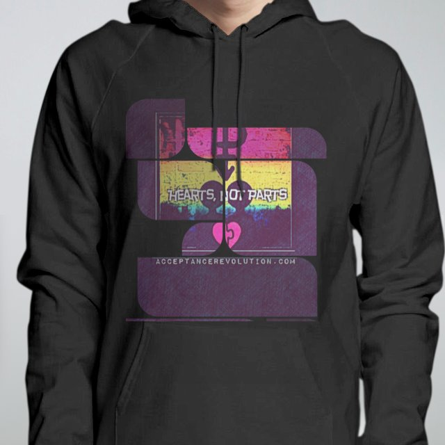 Hearts Not Parts Hoodie