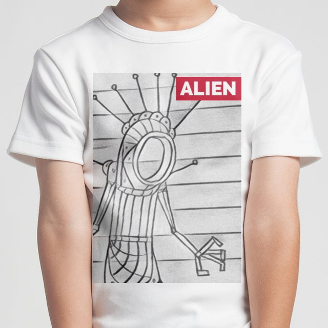 ALIEN #kidfashion #robot #alien