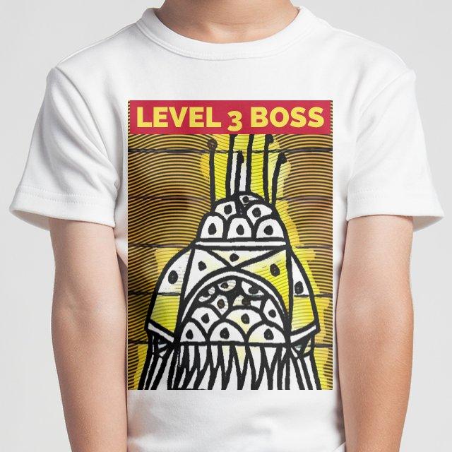 LEVEL 3 BOSS #kidfashion #robot #boss #level3