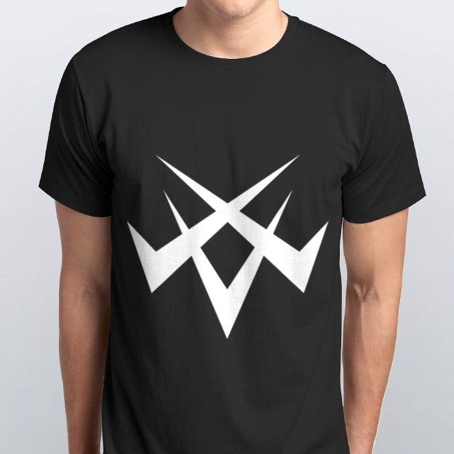 CLACK inc. T-shirt mens(BLACK)