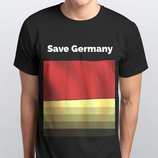 Save Germany Black Design