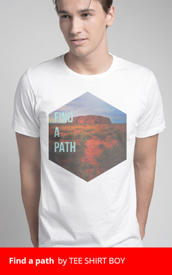 Find a path by TEE SHIRT BOY